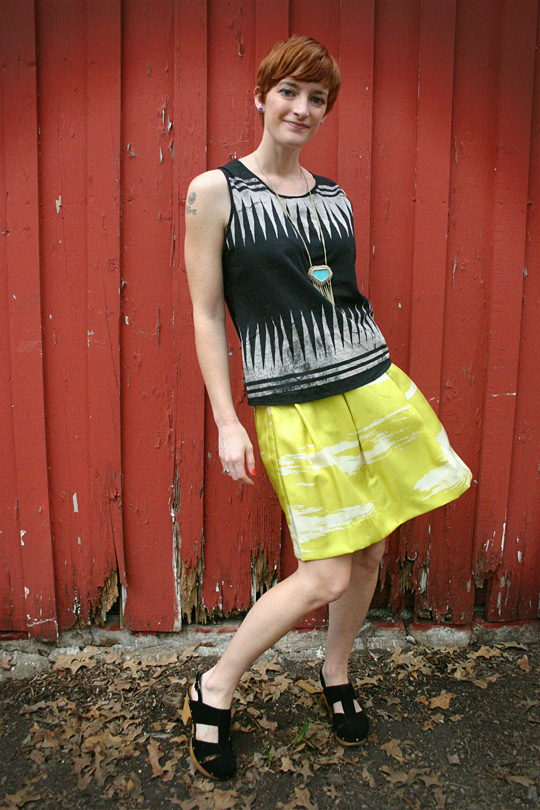 Mixing Prints and Color-tribal