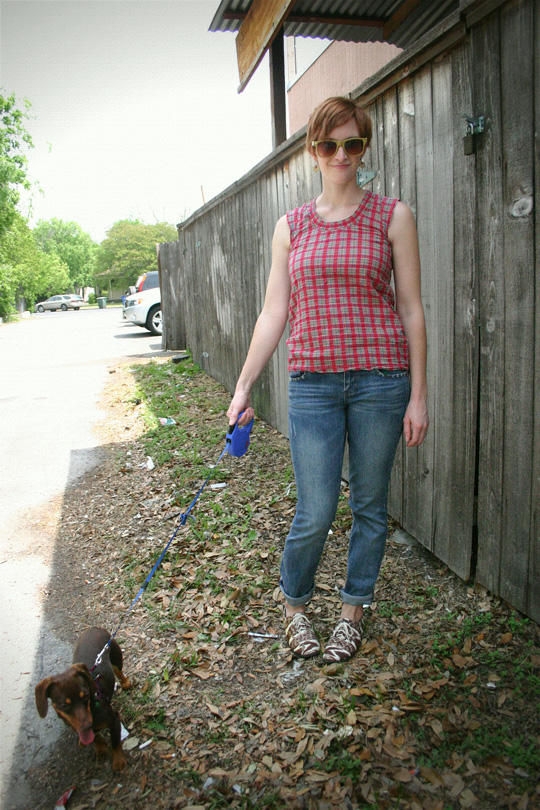 Dog-Walking Outfit