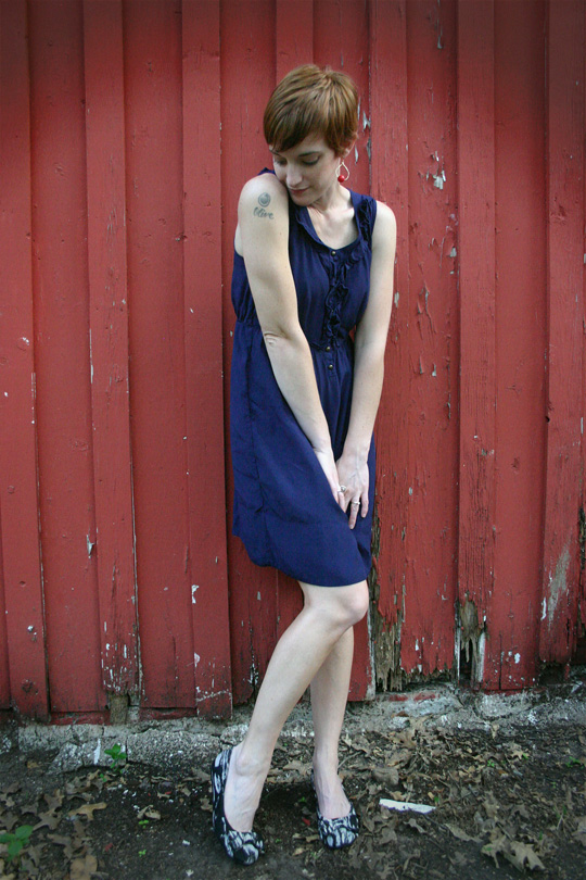 Easy Summer Dress and New Flats