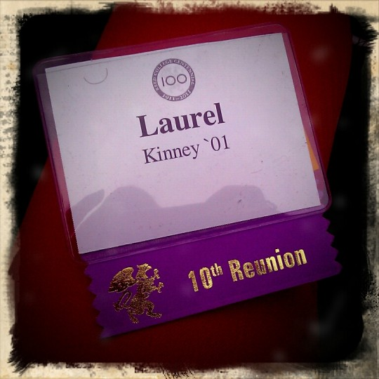 Reunion badge