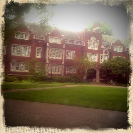 Old Dorm Block, Reed College