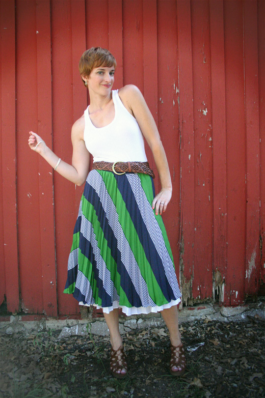 Dress as Midi Skirt