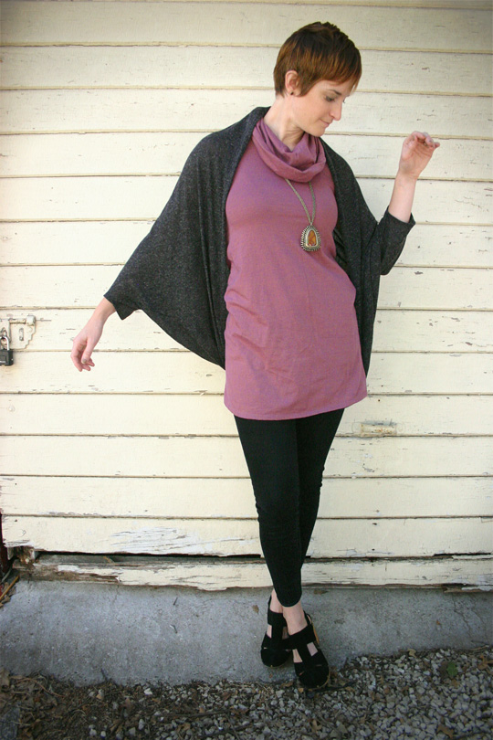 Flowy but Flattering Layered Outfit