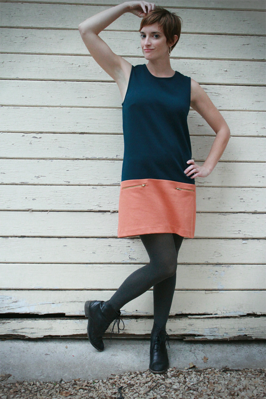 Mod Dress with Boots