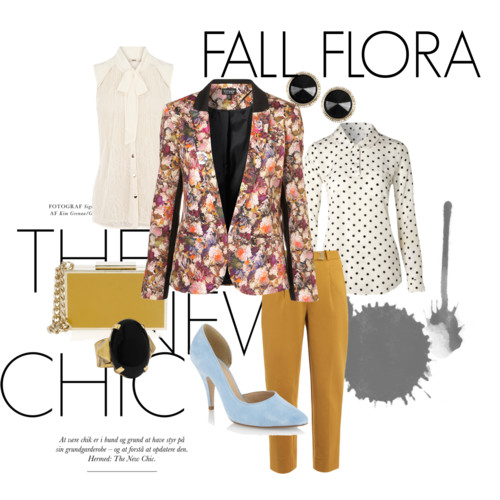 fall flora polyvore
