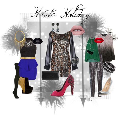 holiday outfits with sparkle
