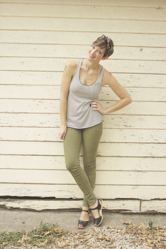 Cammo Green Jeans