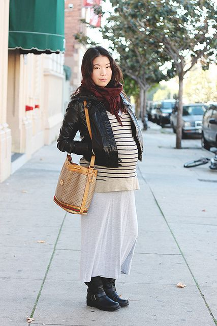 winter maternity style