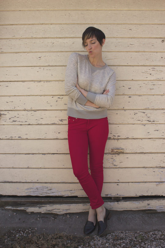 red jeans valentine