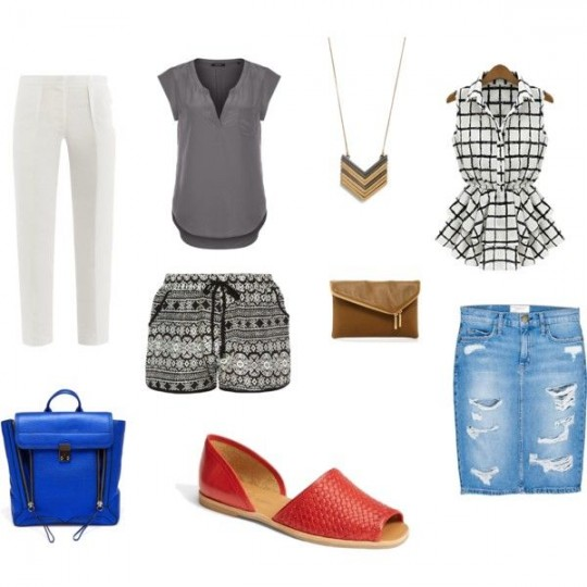 outfit ideas red flats